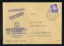 DDR-DIENST Nr.6 BRIEF BEHÖRDENPOST WEISSENFELD 12.2. 5 !!! (951107)