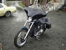 Tsukayu Small Batwing Fairing For Harley H-D FXDWG Dyna Wide Glide (Black)