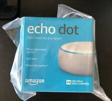 Amazon Echo Dot (3rd Generation) Smart Speaker - Sandstone, New in Box