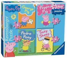 Ravensburger Peppa Pig 4 My 1st Jigsaw Puzzle Set 18 Months 06960