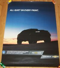 2016 Chevy Colorado ZH2 Hydrogen Fuel Cell SEMA Show Promo Poster