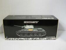 Minichamps T34/76-1943 Production 1:35 Scale Die-Cast Medium Tank Replica w/Box