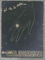 catalogo PIU' CHE LE STELLE ... BRILLANTI CALDERONI -  N.23 - 1937