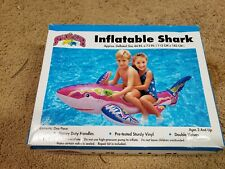 Vintage Inflatable Shark Ride On From Kmart Early 90s