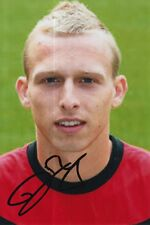 MANCHESTER UNITED HAND SIGNED RITCHIE DE LAET 6X4 PHOTO 4.