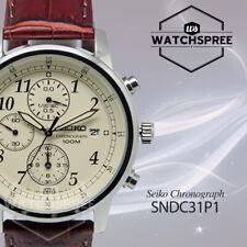 Seiko Chronograph Watch SNDC31P1