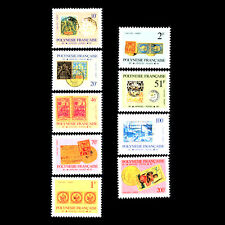French Polynesia 1993 - Stamps History - Sc o16/28 MNH