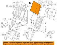 AUDI OEM 16-18 A3 Sportback e-tron Rear Seat-Seat Back Panel Right 8V0885754BGW8