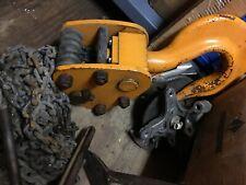 Harrington M3b 966 15 Ton Manual Chain Hoist Cb150 20 30000 Lb Cap 20 Lift