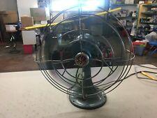 (Vintage) General Electric GE 3 Speed Oscillating Fan FM12V43 NO. 04 (WORKS!)