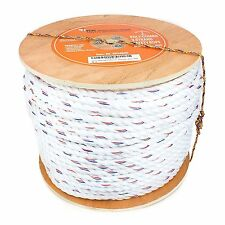"""3/4""""x 600 ft Poly-Combo 3-Strand Safety Rope Dock Line & Anchor Climbing Rope"""