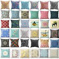 New Bohemian Pattern Throw Pillow Cover Car Cushion Cover Pillowcase Home Decor