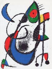 Joan Miro Lithographe Volume II - Original Mourlot Lithograph V M.1047 - 1975