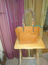 LODIS UNLINED BRENN LEATHER TOTE WITH DROP-IN BAG Rt @ 298.00