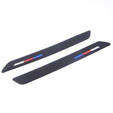 2pcs Schwarz Silikon Stoßstange Schutzleiste Trim Eckenschutz Aufkleber