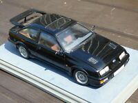 1:18 Autoart Ford Sierra RS500 Cosworth Black Rare Toy Model Collectible Car '88