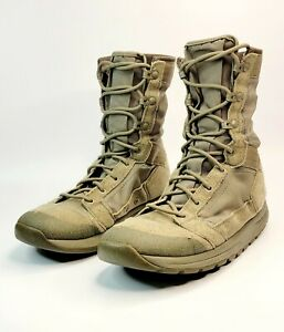 "Danner Mens Tach Yon 8"" Tactical Boots US Size 8 Sage Green 50132 Mens D"