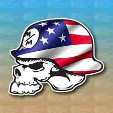 "Metal Mulisha American Flag Merica 5"" Custom Vinyl Decal Sticker JDM"