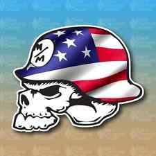 "Metal Mulisha American Flag Merica 3"" Custom Vinyl Decal Sticker JDM"
