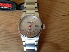 New - Reloj Watch Montre CARRERA lady - Steel Acero - Quartz - Gray dial - Nuevo