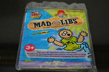 Wendy'S Kids Meal Toy - Mad Libs - World'S Greatest Word Game - Sealed #C