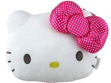 """13"""" Sanrio Hello Kitty Plush Pillow - Car Cushion - Air Flight Travel Backrest"""