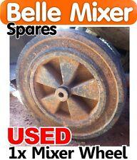 Used Belle Concrete Mixer Wheel 140 150 Spares Parts Minimix Wheels Cement New