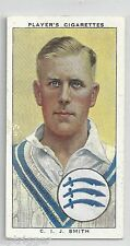 1938 John Player & Sons (24) C. I. J. SMITH Middlesex & England