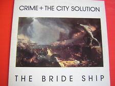 LP CRIME + CITY SOLUTION THE BRIDE SHIP NUOVISSIMO 1989