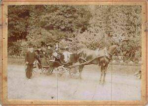 Foto Kutsche Ca 1900 Marseille - Emile Slowjuicer St