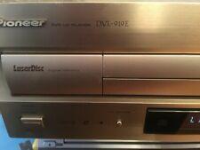 PIONEER DVL 919E LASERDISC AND DVD PLAYER COMBI