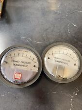 Two Magnehelic Helmet Pressure Gages- Untested