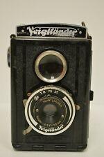 Vintage Voigtlander Camera Brillant Voigtar 1:6,3 F 7,5cm