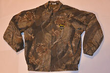 GENUINE NIKON ProStaff CAMOUFLAGE HUNTING JACKET! QUILTED LINING! CAMO! CANADA M