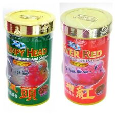 New listing Xo Humpy Head 120 gr + 1 Xo Ever Red 120 gr. Flowerhorn feed for Kok and color