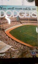 2012 LOS ANGELES DODGERS 50TH ANNIVERSARY DODGER STADIUM OPENING DAY PROGRAM