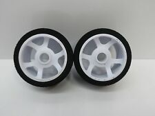Hot Race 1/12 On Road Touring Front Foam Nitro Wheel Set (2) OZ RC