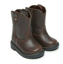 Garanimals Infant/Toddler Boys' Brown Slip-on/ Pull-on Boots Shoes: 2-6