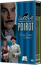 NEW Agatha Christie's Poirot: Classic Crimes Collection (DVD, 2006, 4-Disc Set)