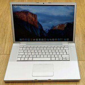 """Apple MacBook Pro 15"""" Intel Core 2 Duo 2.4GHz A1226 128GB SSD 4GB RAM Laptop"""