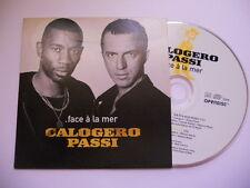 Calogero et Passi / face à la mer - cd single