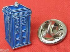 Blue Police Box Tardis Lapel Hat Cap Tie Pin Badge Brooch Gift Souvenir