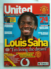No 139 Manchester United Official Magazine March 2004