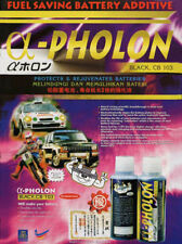 A-Pholon Battery Additive TWICE AS LONG BATTERY LIFE cars/trucks/motorcycles
