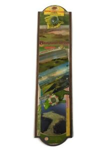 "Dooks Golf Club Glenbeigh Wooden Sign 24""x6"""