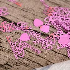 Multi-purpose 15g Metallic Confetti Glitz Tabletop Throwing Party Decor Pretty