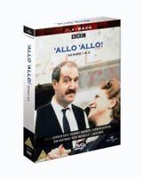 'Allo 'Allo Serie 1 & 2 3 Disco Box Set Universale UK DVD L Nuovo