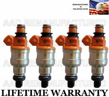 OEM Nikki Set Of 4 Fuel Injectors for 92 96  Mirage Colt Summit Expo 1.8L