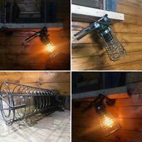 Vintage Briticent Gripper Inspection Lamp,1950's Industrial, Edison Bulb, Retro