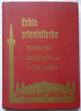 TEPPICHE ORIENT KIBEK 1958 mit Preisliste ! 172 Fotos in Farbe GELDMASCHINE
